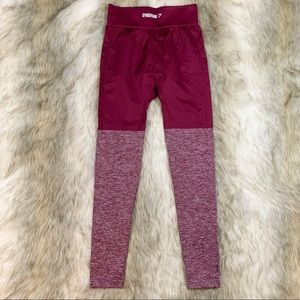 Gymshark Pants - Gymshark two tone seamless leggings